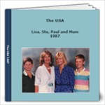 USA 1986 - 12x12 Photo Book (20 pages)
