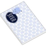 Hippo Blue Large - Large Memo Pads