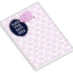 Hippo Pink Large - Large Memo Pads