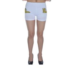 Fantasy Cute Monster Character 2 Skinny Shorts