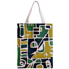 Colorful Tribal Abstract Pattern Classic Tote Bag by dflcprints