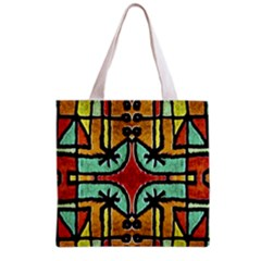 Lap Grocery Tote Bag by dflcprints