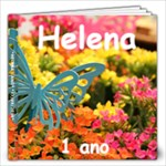 helena 1 ano - 12x12 Photo Book (20 pages)