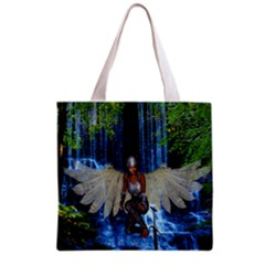 Magic Sword Grocery Tote Bag by icarusismartdesigns