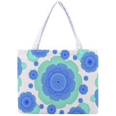 Retro Style Decorative Abstract Pattern Tiny Tote Bag by dflcprints