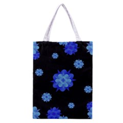 Floral Print Modern Style Pattern  Classic Tote Bag by dflcprints