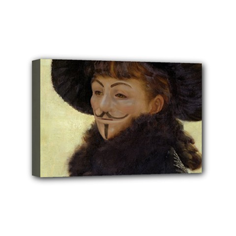 Kathleen Anonymous   James Tissot, 1877 Mini Canvas 6  X 4  (stretched) by AnonMart