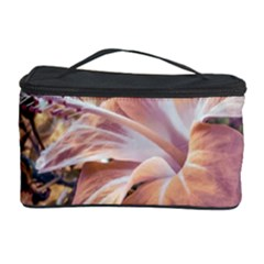 Fantasy Colors Hibiscus Flower Digital Photography Cosmetic Storage Case by dflcprints