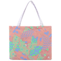 Tropical Summer Fruit Salad Mini Tote Bag by CrypticFragmentsColors