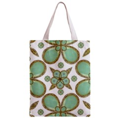 Luxury Decorative Pattern Collage Classic Tote Bag by dflcprints
