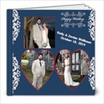 Emily and Jordan wedding - 8x8 Photo Book (20 pages)