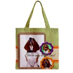 pet dog - Grocery Tote Bag