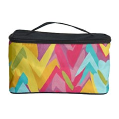Paint Strokes Abstract Design Cosmetic Storage Case by LalyLauraFLM