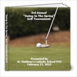 SMCS 2015 Golf Tourney - 8x8 Photo Book (20 pages)
