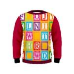 abc - Kid s Sweatshirt