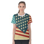 usa - Women s Cotton Tee