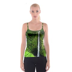 Akaka Falls Spaghetti Strap Top by bloomingvinedesign