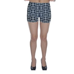 Abstract Geometric Modern Pattern Skinny Shorts by dflcprintsclothing
