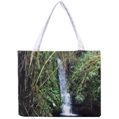 Bamboo Waterfall Tiny Tote Bag by bloomingvinedesign