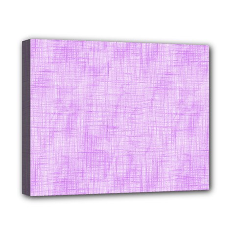 Hidden Pain In Purple Canvas 10  X 8  (framed) by FunWithFibro