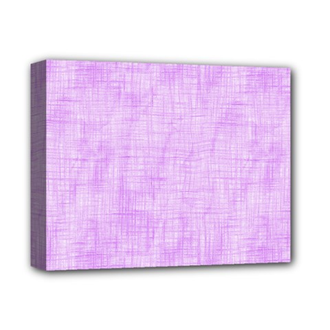 Hidden Pain In Purple Deluxe Canvas 14  x 11  (Framed) by FunWithFibro