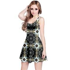 Faux Animal Print Pattern Sleeveless Dress by creativemom