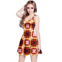 Cute Pretty Elegant Pattern Sleeveless Dress