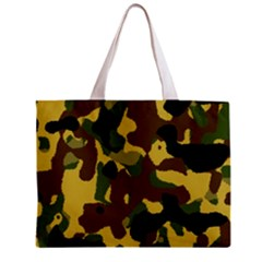 Camo Pattern  Tiny Tote Bag by Colorfulart23