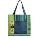 Bluegrass Boy Zipper Tote 1 - Zipper Grocery Tote Bag