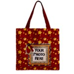 Primary Cardboard Zipper Tote 1 - Zipper Grocery Tote Bag