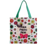 Lively Zipper Tote 1 - Zipper Grocery Tote Bag