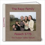 pesach 5775 - 8x8 Photo Book (20 pages)