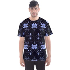 Geometric Futuristic Design Men s Sport Mesh Tee by dflcprintsclothing