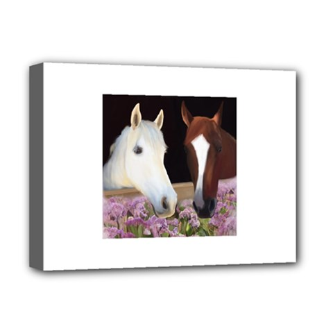 Friends Forever Deluxe Canvas 16  X 12  (framed)  by JulianneOsoske