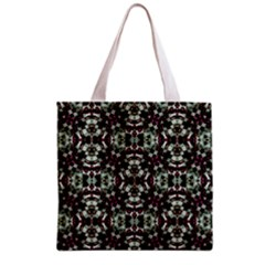 Geometric Grunge Grocery Tote Bag by dflcprints