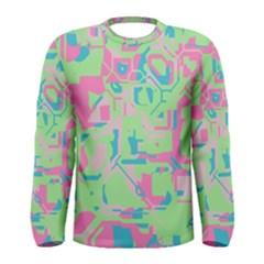 Pastel chaos Men Long Sleeve T-shirt by LalyLauraFLM