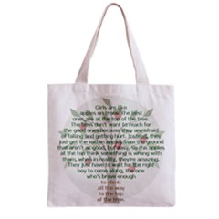 Girls Are Like Apples Grocery Tote Bag by TheWowFactor
