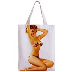 Sexy Bikini Pinup Classic Tote Bag by TheWowFactor