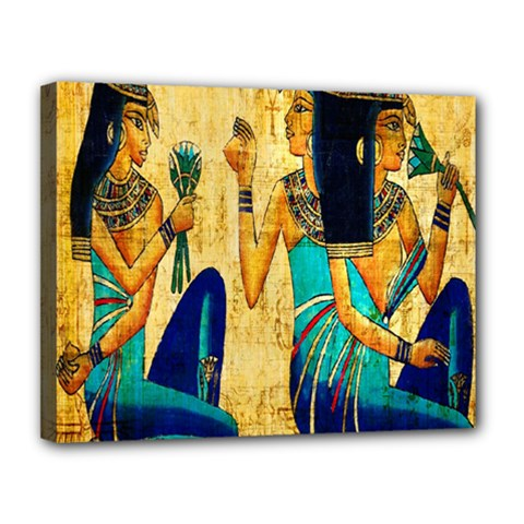 Egyptian Queens Canvas 14  X 11  (framed) by TheWowFactor