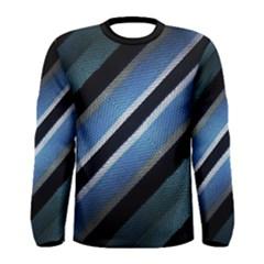 Geometric Stripes Print Long Sleeve T Shirt (men) by dflcprintsclothing