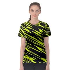 Camouflage Women s Sport Mesh Tee by LalyLauraFLM