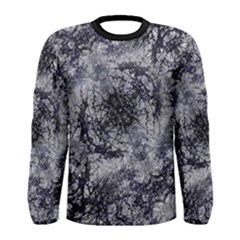 Nature Collage Print  Long Sleeve T-shirt (Men) by dflcprintsclothing