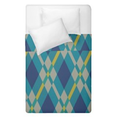 Squares and stripes pattern  Duvet Cover (Single Size) by LalyLauraFLM