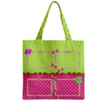 Little Princess Zipper grocery Tote Bag