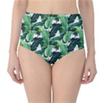 palmtree bottoms - High-Waist Bikini Bottoms