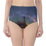 milkyway over arizona - High-Waist Bikini Bottoms