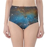 galaxy green bottoms - High-Waist Bikini Bottoms