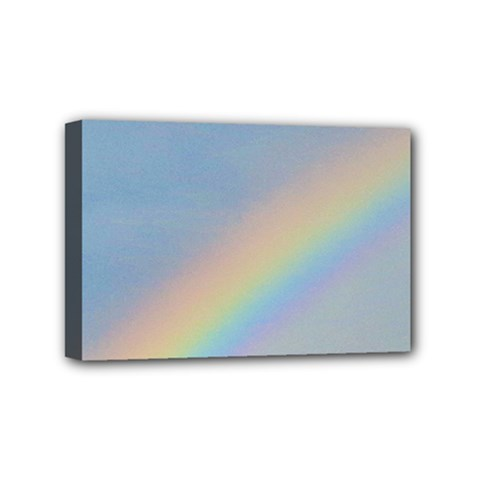 Rainbow Mini Canvas 6  X 4  (framed) by yoursparklingshop