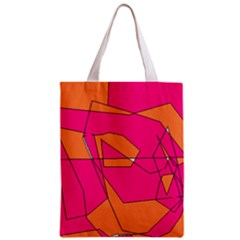 Red Orange 5000 Classic Tote Bag by yoursparklingshop