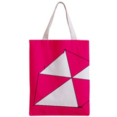 Pink White Art Kids 7000 Classic Tote Bag by yoursparklingshop